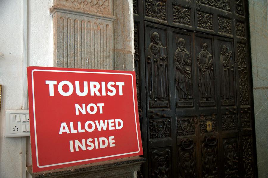I confess: I am a tourist